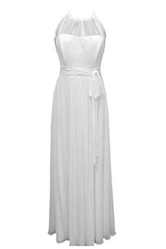 Missdressy - Robe - Trapèze - Femme Bianco