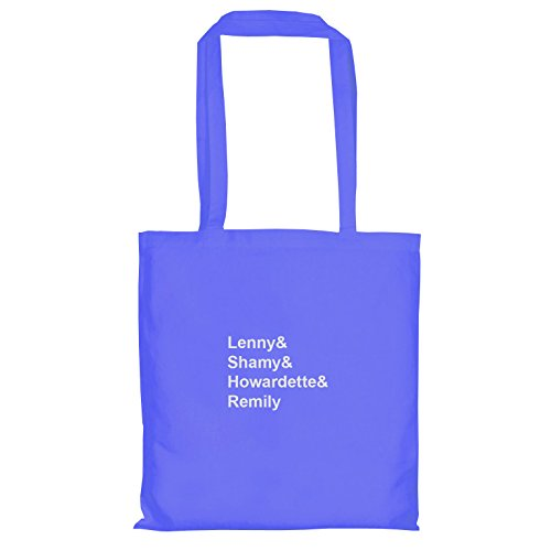 TEXLAB – Lenny & shamy & howardette & remily – Sacchetto regalo in tessuto Blau