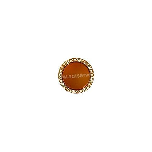 Adiserve sous-Assiette Ronde 30 cm Chocolat par 4
