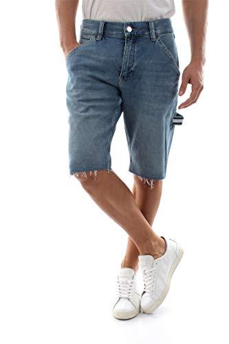 Tommy Jeans DM0DM06243 Carpenter Short Bermudas UND Shorts Herren Denim 33 - Denim Carpenter Shorts