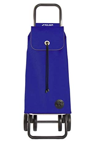 Rolser Carro I-MAX MF 4 Ruedas Plegable - Azul