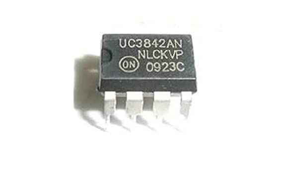 10PCS UC3843AN HIGH PERFORMANCE CURRENT MODE CONTROLLERS