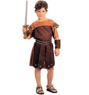 Imagen de disfraz de niño de soldado romano. 6  9 años