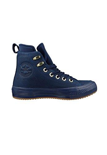 Converse Star Waterproof Hi Damen Sneaker Blau Midnight Navy Midnight Navy