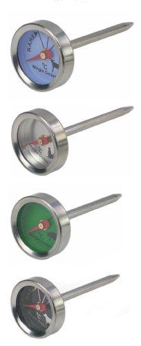 Sunartis T343AL Grill- und Fleischthermometer Set (Backofen Fleisch)