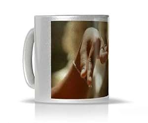 Mug Danseuse Khmere - Mug personnalisé argenté