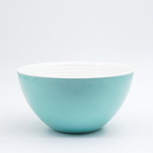 Farbe Bowl Keramik Bowl Of Fruit Salatschüssel Kleine Schale himmelblau