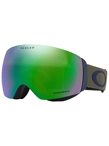 Oakley Unisex-Erwachsene Flight Deck Xm 706461 0 Sportbrille, Schwarz (Canteen Jade/Prizmjadeiridium), 99