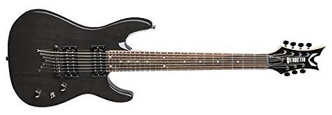 Dean guitars vNXM7 cBK vendetta xM 7 strings trans black guitare électrique
