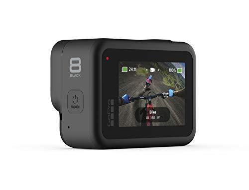 GoPro HERO8 Black - Cámara de acción Digital 4K Resistente al Agua con estabilización hipersuave