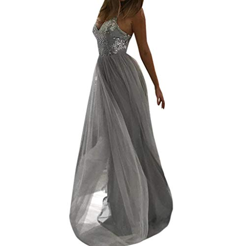 DoraMe Vestito Donna Elegante Swing Abito da Cocktail Vestito Lungo Donna  Multiway Vestiti Abito da Sera 68636149106