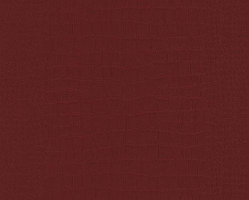 M.Service S.r.l. Broschüre mit Ständer aus TNT - Krokodil Bordeaux - Rolle 10,05 x 0,53 m - Ideal für Schlafzimmer Oder Wohnzimmer