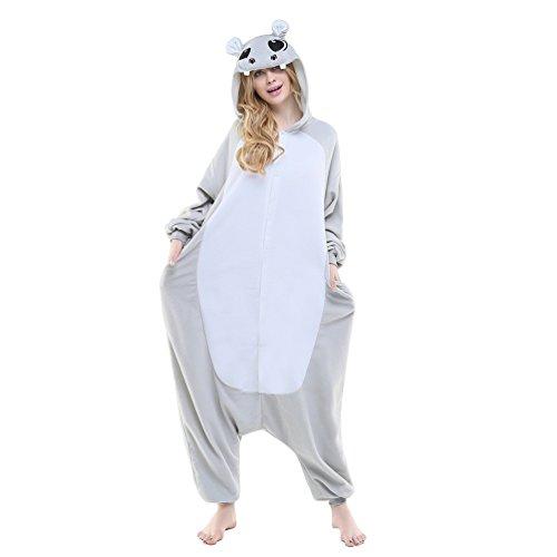 AGOLOD Unisex Fleece Cute Nachtwäsche Cosplay Party Halloween Weihnachten Nachtwäsche Kostüm ()