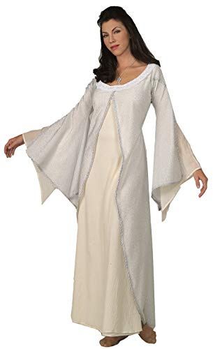 Kostüm Ringe Herr Elrond - Original Lizenz Arwenkostüm Kostüm Arwen Herr der Ringe Damen Damenkostüm Gr. STD Spitzenkragen Aragorn Undómiel Elrond Celebrían Halbelbe
