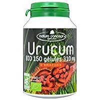 Urucum BIO en Gélules  |NaturoConcept|Certifié AB| 150 Gélules BIO| Complément Alimentaire Analysé et Conditionné en France