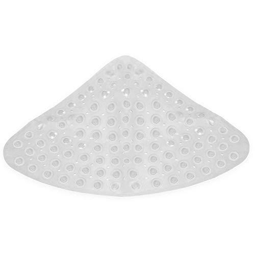 Eckduschmatte | Rutschfeste Matten für die Dusche | Rutschfeste Bodenmatte | Duschzubehör | Sicherheitsmatten | M&W
