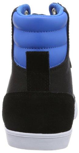 Hummel Fashion - Chaussures Hummel 'Slimmer Stadil High', de sport - HUMMEL SLIMMER STADI Noir (Black/Blue/Red/Gum)
