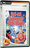 Gru�- und Gl�ckwunschkarten-Designer. CD-ROM f�r Windows ab 98. Der Design-Wizard. Bild