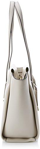 Calvin Klein - Frame Medium Shopper, Borse Tote Donna Bianco (Cement)