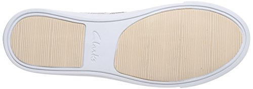 Clarks Glove Glitter, Sneakers basses femme Rose (Nude Pink)