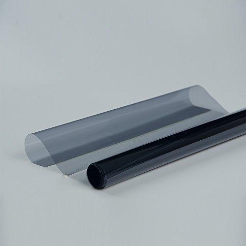 HOHO 152cmx1000cm sputter Solar-Tönung Fensterfolie 65% VLT Windschutz mit Fenster Tönung UV-prooft (Auto 60 Tönung)