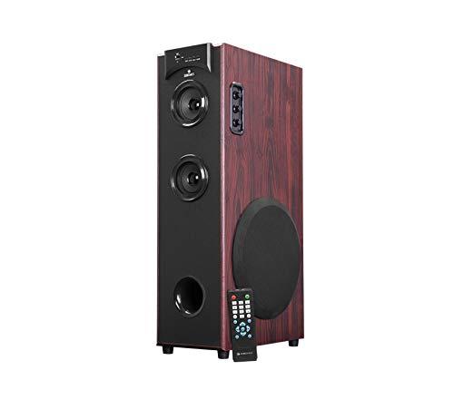 "Zebronics ZEB-BT500RUCF 3 Way Mono Tower Speaker, mSD, USB, FM, AUX, Remote Control & 8"" Subwoofer Drive"