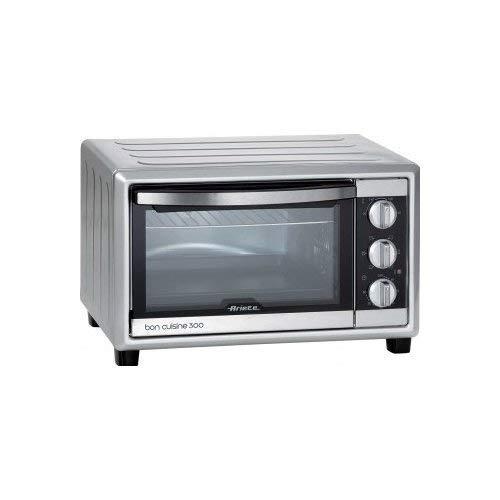 Ariete 985 bon cuisine 300 - forno elettrico ventilato, dimensioni interne: 50 x 36,5 x 33 cm, 30 litri, 1500w, 6 posizioni cottura, timer 60', silver