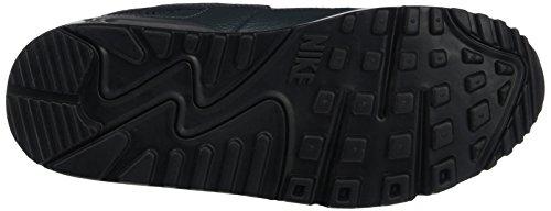 Nike Wmns Air Max 90 Essential, Baskets Femme, Gris Grigio (Dark Grey/Wolf Grey/Anthracite/Pure Platinum/Black)