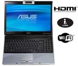 "Asus M51VA-AS024C Core 2 Duo T9400 RAM 4 Go HDD 320 Go DVD±RW (±R DL) ATI Radeon HD 3650 -LAN sans fil : 802.11a.b.n Vista Home Premium 15.4"" écran large TFT 1440x900 (WXGA+) Color Shine caméra"