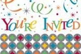 Celebrate In Style Invitation Gatefold - 8/Pkg.