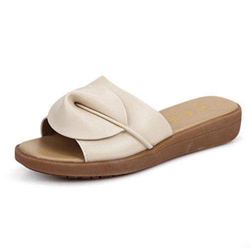 pengweiSandales mode d'¨¦t¨¦ et des pantoufles mot glisser sandales plates Mme 1