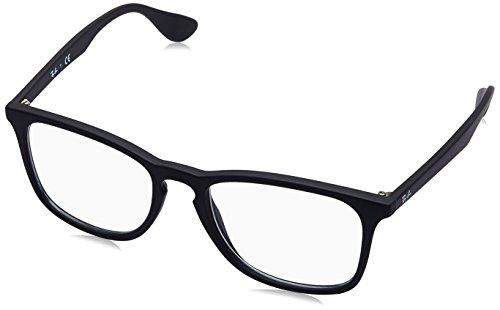 Ray-Ban RAYBAN Unisex-Erwachsene Brillengestell 0rx 7074 5364 52, Schwarz