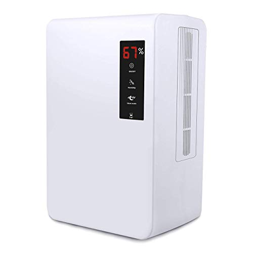 IKICH 3L Raumentfeuchter elektrisch,Luftentfeuchter Elektrisch testsieger,luftentfeuchter elektrisch leise, luftentfeuchter fuer keller,wohnung,Schlafzimmer, Büro