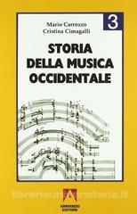 Carrozzo Cimagalli - Storia della musica occidentale Vol 3