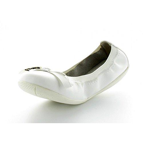 Ballerine Enfant les P'tites Bombes Ella Blanc Blanc