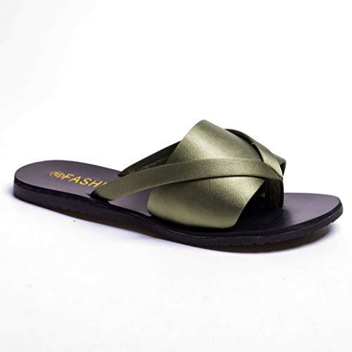 C75-box (Frauen Sandalen tragen resistente flip Flops rutschen auf Clip zehenschuhen Sommer t Riemen Post stränge Sommer Strandschuhe)