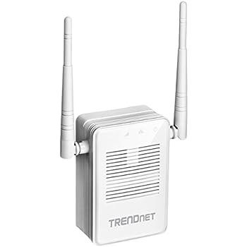 Trendnet TEW-822DRE Espansore di Copertura Wi-Fi AC1200, Gigabit, MIMO, Doppia Banda, Bianco