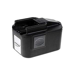 Powery Batería para AEG Amoladora Recta PSG14.4PP 3000mAh NiMH