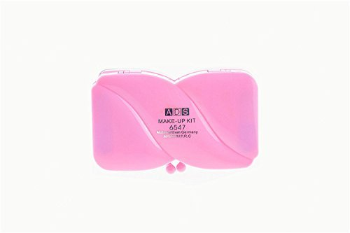 Sellify Eye Primer Palette Eye Shadow Cute Kids Shimmer Eyeshadow Powder Lip Gloss Blusher Set Pink Portable Cosmetics Make Up
