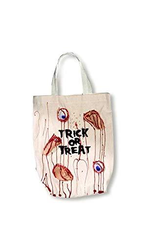 Horror-Shop Blutige Halloween Trick or Treat Tasche
