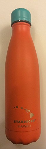 Exclusive Hawaii Stainless Steel Orange S'well Thermal Bottle-17oz