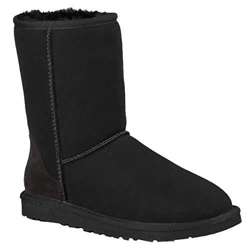 UGG 1016223 BLK Classic Short II Boot Schwarz - Short Ugg Classic Schwarz Boots