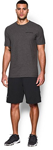 Under Armour Herren Fitness T-Shirt und Tank Charged Cotton SS T Carbon Heather