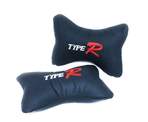 Preisvergleich Produktbild 2 x Kissen für Autositz-Kopfstütze,  Nackenkissen,  für Fahrten und Reisen mit Bus oder Flugzeug