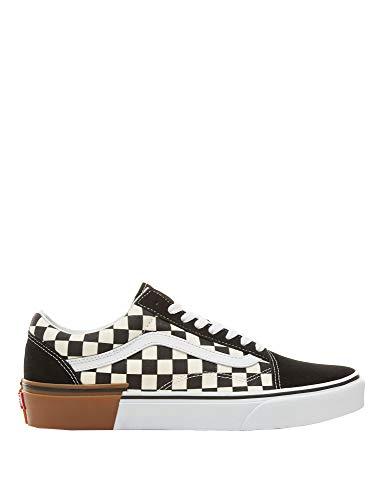 Vans old skool (gum block) checkerboard black-white 8g1u58 (39 eu)