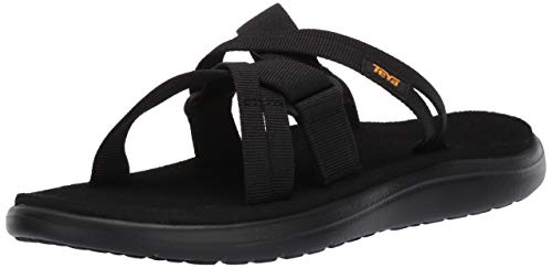 Teva Voya Damen Schwarz Slides-UK 8 / EU 41 -
