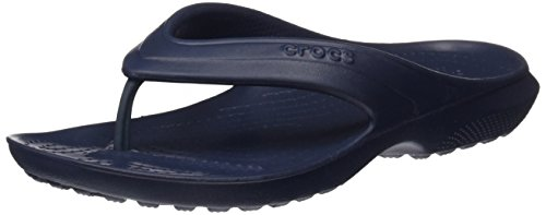 crocs Unisex-Kinder Classic Flip Kids Pantoffeln, Blau (Navy), 27/28 EU (C10 UK)
