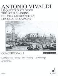 Vivaldi: The Four Seasons (Spring) (Violin & Piano)