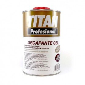 Decapante Gel Titan Profesional - 1 L