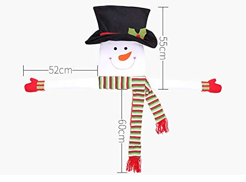 Tree Toppers - 2019 Christmas Decoration Home Outdoor Tree Snowman Pers Hanging Ornaments With Scarf Hat Xmas Gift - Christmas Shoes Cake Small Trees Star Decorations Lighted Tree -